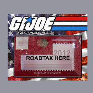 Road Tax Sticker - G.I. Joe