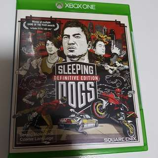Xbox Games Sleeping Dogs
