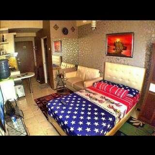 The suites metro bandung type studio murah bersih nyaman