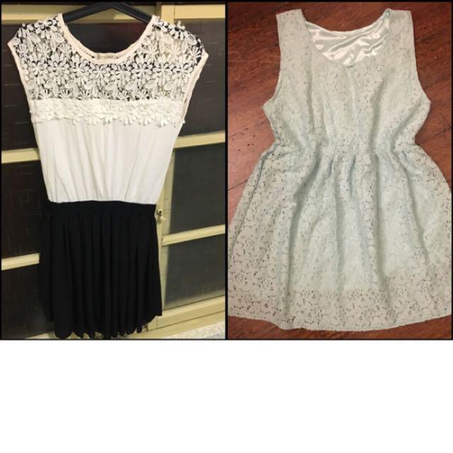 無袖洋裝2件$250