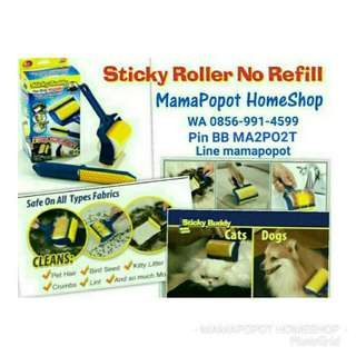 Roller Pembersih Bulu Hewan No Refill