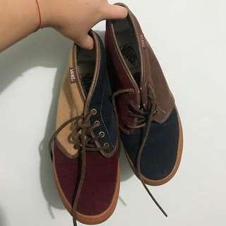 Vans日本版併色鞋