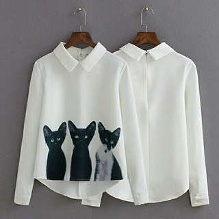 J blouse catty new