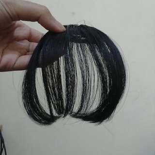 Hairclip poni - black