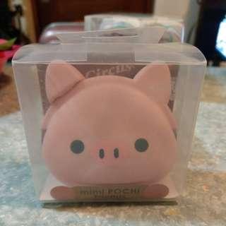 日本可愛豬形矽膠散紙包