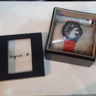 Aguis b 膠帶手表