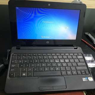 HP mini Laptop For Sale 500gb hdd