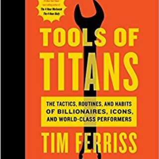 Tools of Titans by Timothy Ferriss (EBOOK)