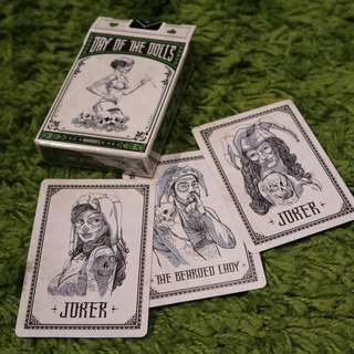 Days of the Dolls Playing Cards