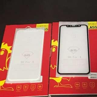 🔥弧邊 全屏粘貼(白色)iphone X 鋼化玻璃保護貼