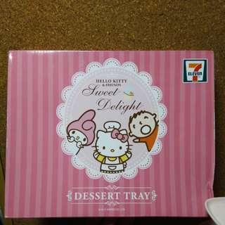 Hello Kitty 三層甜品架(膠)
