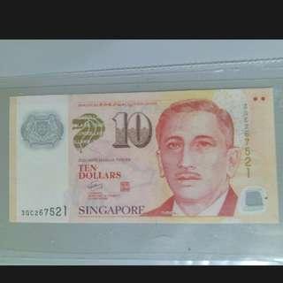 新加坡 10元