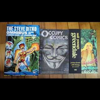 Steve Ditka, Occupy comics and Neil Young'sGreendale