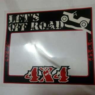 4x4 Roadtax