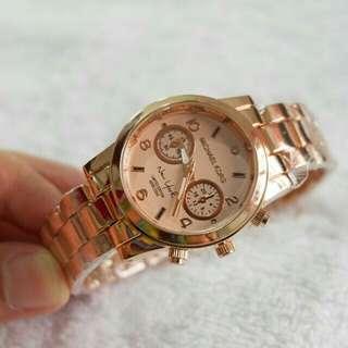 Mk rose gold