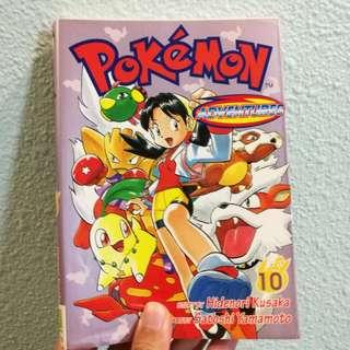 Pokemon Adventures book 10