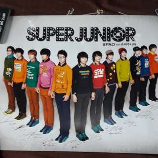 Super Junior Posters
