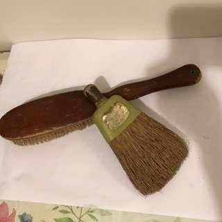 50年代刷子和掃