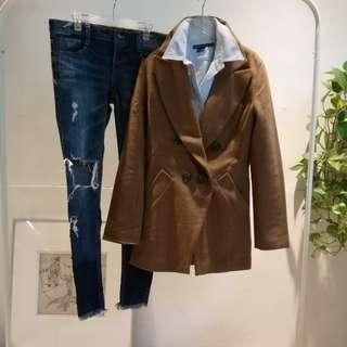 歐美品牌合身西式外套