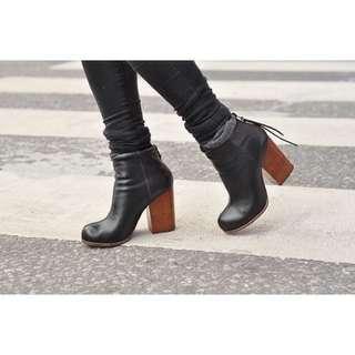 EUC - Jeffrey Campbell - Rumble Boot / Booties - Size UK 35 / US 5