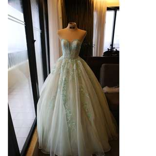 Second Hand Debut Gown (Mint Green Ball Gown)