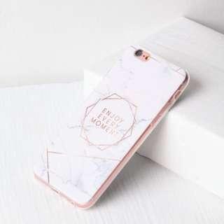 📱雲石花紋iPhone 7手機套