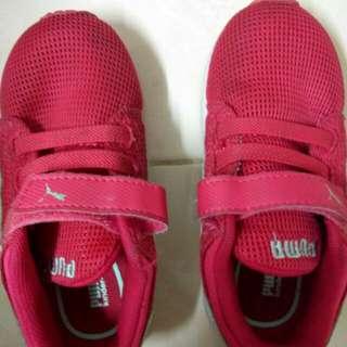 Puma Shoes kids size 3 years