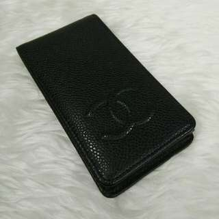 CHANEL caviar iphone 4 case