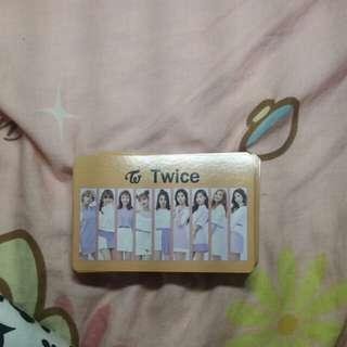 Twice 撲克牌