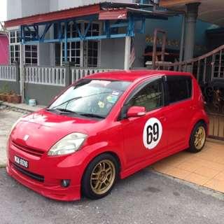 Perodua myvi toyota passo 1.5 auto