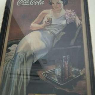 Vintage coke display