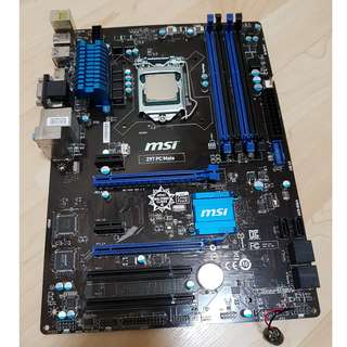 MSI Z97 PC Mate / intel i5-4590