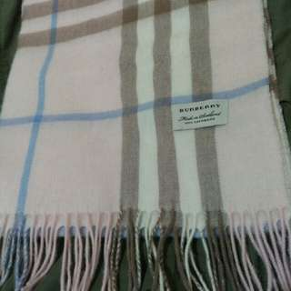 New Burberry Scarf Cashmere