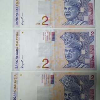 Rare RM2 ZB Running Number