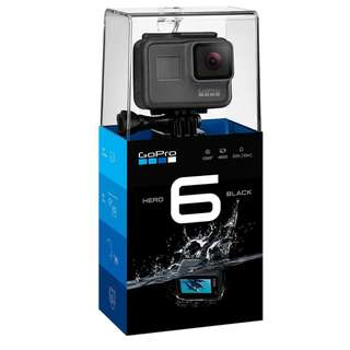 100% Brand New and Sealed GoPro Hero 6 Black (EXPORT)