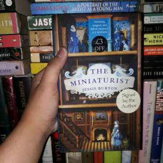 The Miniaturist (Hardcover; signed copy)