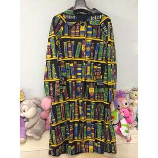 Jeremy Scott retro bookshelf coat 大褸外套