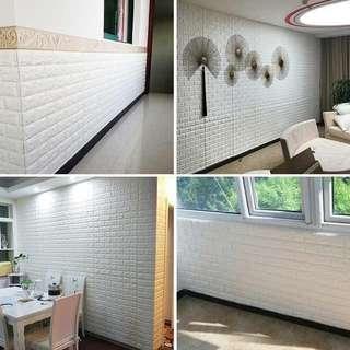 🇰🇷韓式仿真紋理磚3D牆貼