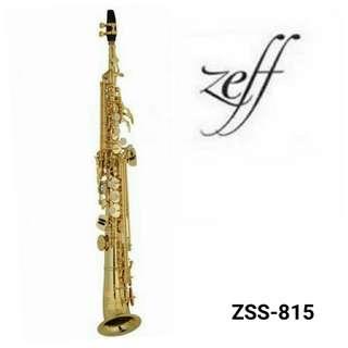 ZEFF SOPRANO SAXOPHONE (France) Standard Style ZSS-815