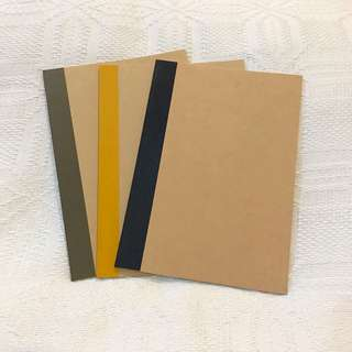 Muji A6 Lined Notebook 3 for 100