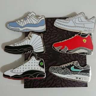 Nike pin 襟章 vapormax racer aj
