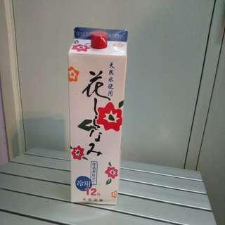日本清酒 12度 1800ml