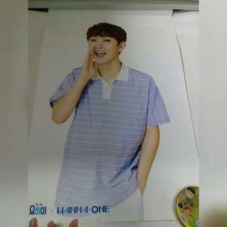 Wanna One 尹智聖 YO-HI poster