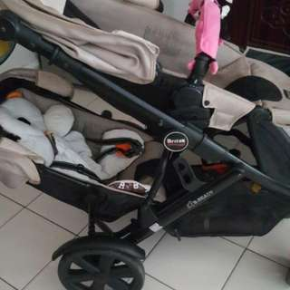 Double stroller for kid (Double up & down)