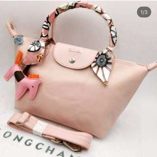 Longchamp High Quality Replica with Twilly