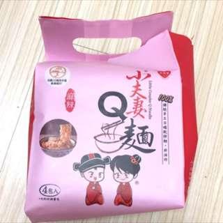 小夫妻Q麵 麻辣口味 乾拌麵