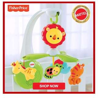 Fisher-Price® Grow-With-Me Mobile music toy