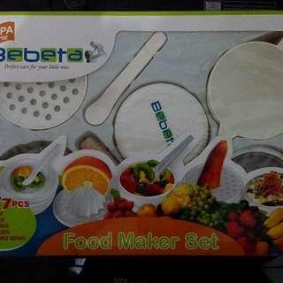 Baby Food Maker Set