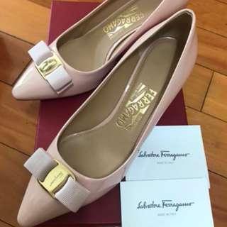 Salvatore Ferragamo Light Pink High Heels 高踭鞋 淺粉 Gifts