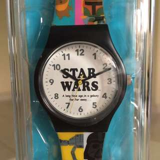 Star Wars watch from Japan Disney stores exclusive